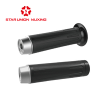 Electric Bicycle, Scooter, Motorcycle TPR Handlebar, E Bike, Accessories, Grips, Spare Parts.