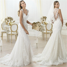 YW06 China custom made wedding dress beach wedding dress ball gown