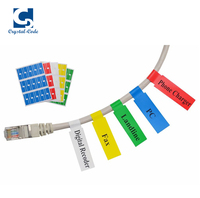 Strong adhesive printer wire maker sticker cable label