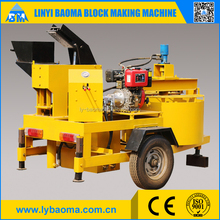 M7MI Moving interlocking brick maker