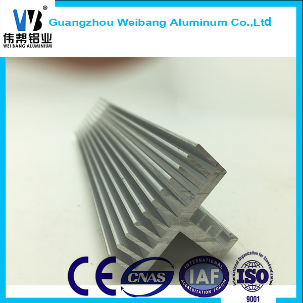 Different Types 6000 Series of Aluminum Radiator/Heat Sink