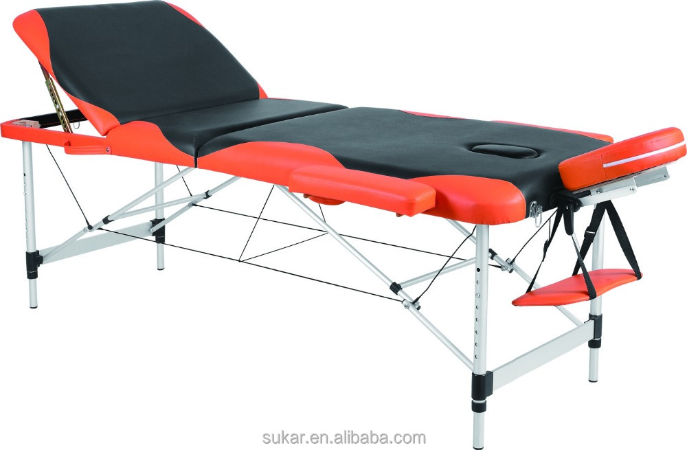 Aluminum portable Massage bed spa equipment With high density foam and best PVC/ PU