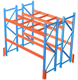 Hot sale warehouse storage medium duty rolling storage shelves for logistic equipment