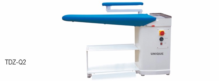 TDZ-Q series heated vacuum ironing board for professional use
