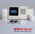 SMS SIM Call 433MHz Wireless GSM Home Security fire Alarm System YL-007M2K