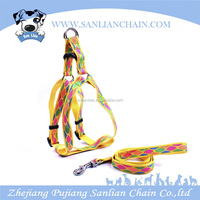 Retractable Dog Collar Harness With Leash Pet dog Training Flexible Leash Harness Dog Lead