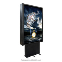 outdoor programmable scrolling led sign light box,electronic scrolling message display board
