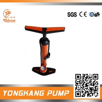 Steel High Pressure Portable Household Bike Floor Pump