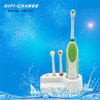 waterproof battery powered good for hotel oothbrush Mini Sonic Electric Toothbrush For Travel And Office HQC-013