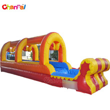 Inflatable water slide with pool inflatable slip n slide