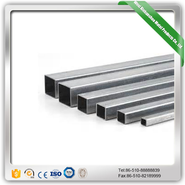 Welded 304 316 316L stainless steel square tube/pipe