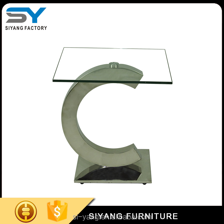 2017 top sale stainless steel side table from guangdong JJ023