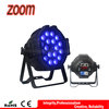 Indoor professional club 32bit dimming dmx 18*10w rgbw 4 in 1 LED zoom par stage lighting