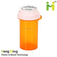 Pill plastic bottles for pharmaceutical
