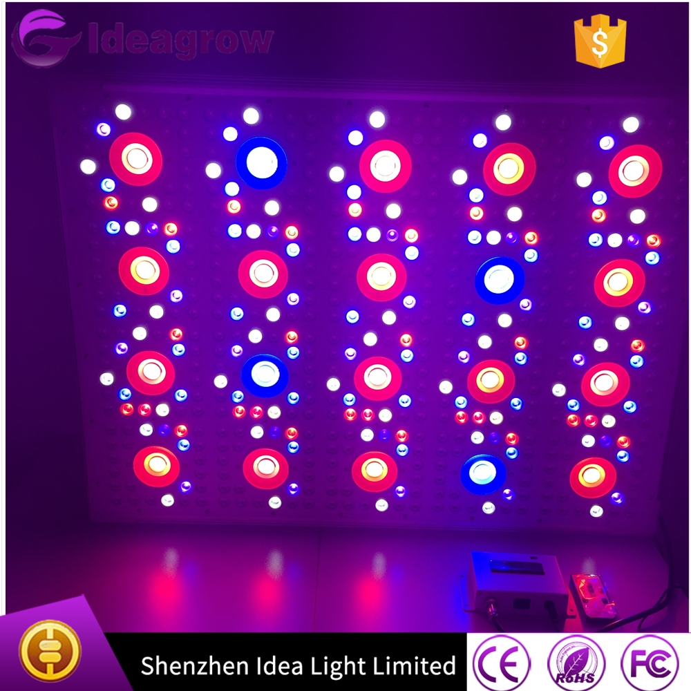 Ideagrow Led Grow Lights 2000W dimmable Multi-lights Signal Daisy chain programmable 4 channels full spectrum Led grow Lights (2)