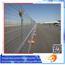 temporary fencing and fence panel clamp/decorative temporary fencing