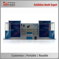 10x20ft Modular aluminum quick install foldable trade show booth