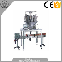 Dried Fruit Cans Filling Sealing Packing Machine/Pistachio Nuts Packing Machine
