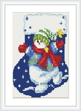 CZ003 OEM christmas design 20*30 DIY diamond painting embroidery kits