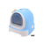 Wholesale good quality plastic luxury hooded cat litter box