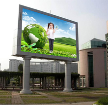 Hd Outdoor Full Color P8 10Ft X 12Ft Module Led Advertising Digital Board Display Video Screen Price
