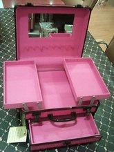 case cosmetic rolling makeup case