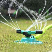 Watering Head Garden Lawn Sprinkler Garden Sprinklers Water Durable Rotary Three Arm Water Sprinkler