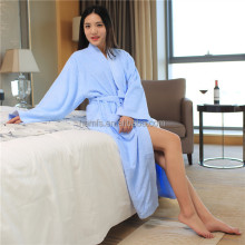 Unisex Cotton Terry Kimono Bathrobe