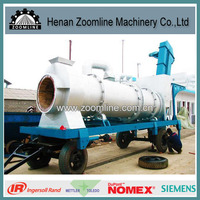 mobile drum mix asphalt batching equipment