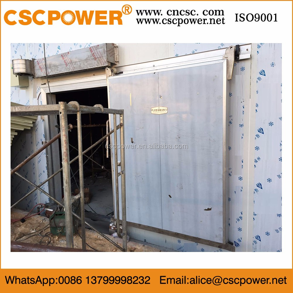 auto close sliding door for cold room with lower price