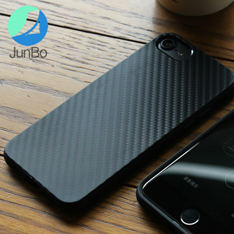 2017 Fashion accessories high quality carbon fiber phone case for iphone 7 plus