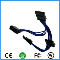 ATX 4Pin SATA Cable Internal PC PSU Power Extension Cable