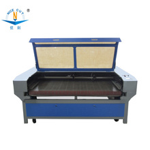 NC-F1810 co2 laser cutter clothing textile automatic fabric cutting machine