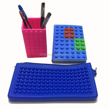 Promotion Office Sets Of Pencil Pouch And Notebook Pencil Holder Kids Stationery Set