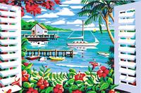 beautiful sea scenery painting by numbers ocean waves oil painting