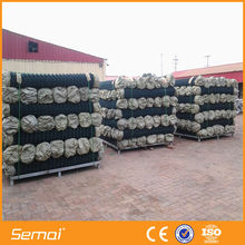 PVC Chain Link Fence Mesh / Roll Chain Link Fence for Playground