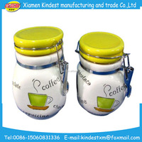 Buy White ceramic airtight coffee canister for in China on Alibaba.com