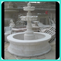 decorative marble round water fountain