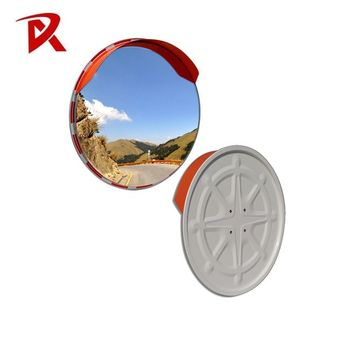 Super brightness roadside acrylic traffic convex mirror