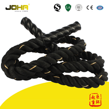 crossfit strength and core traning polyester battle rope