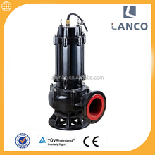 QW vertical centrifugal sewage submersible grinder pump
