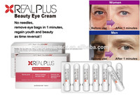 2016 new product Real Plus instant beauty eye cream for eliminate fat granule