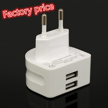 Durable Dual USB Wall Travel Charger Multi Port Cell Phone Super Fast Mobile Charger