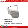 OEM Rear Door for CHEVROLET NEW SAIL 2010 classic car body parts