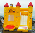 Yellow inflatable bouncer for sale/new style bouncy castle