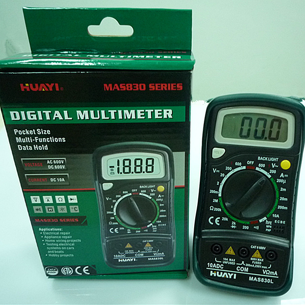 Mastech mas830l Multitester With Buzzer Mastech