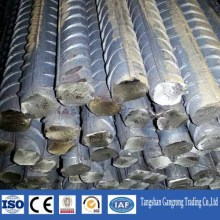 HRB400 Grade steel rebar, deformed steel bar, iron rods for construction