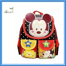 high quality mickey mouse lovely school bag kids backpack
