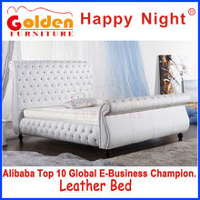 (HG954#) Golden Furniture bedroom set High Back Designer Bed