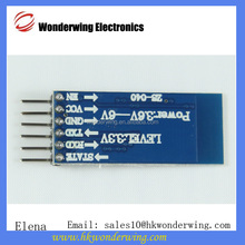 Bluetooth Serial Transceiver Module Base Board For HC-06 HC-07 HC-05 With clear buttons